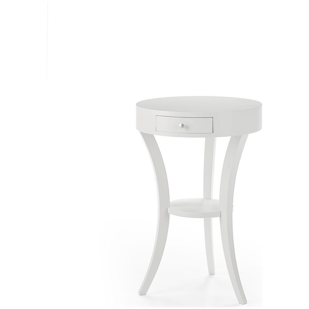 Estea Mobili Tavolino Rotondo In Legno Per Salotto Ingresso