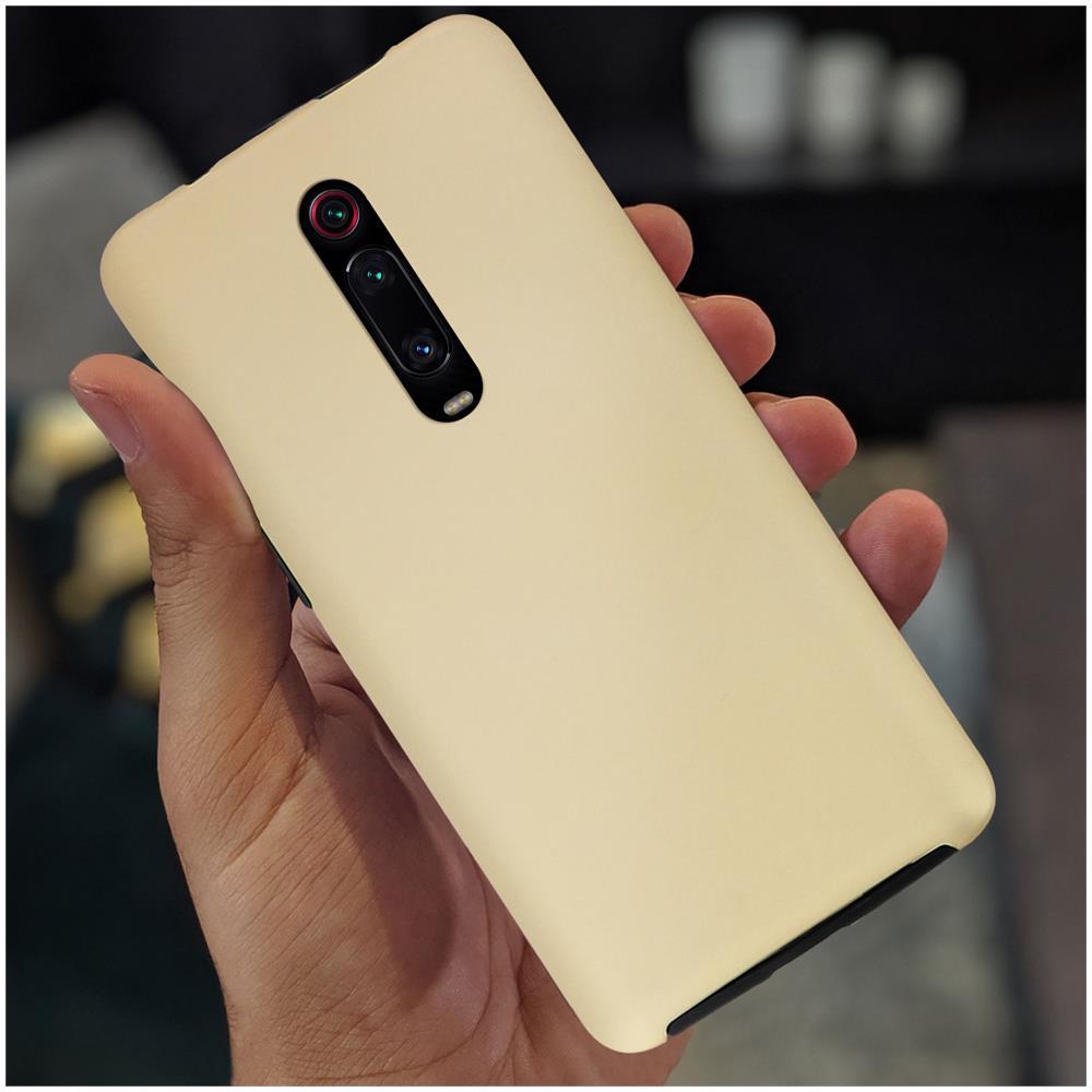 Cover Xiaomi Mi 9T / Mi 9T Pro Silicone Fronte Retro Rosa gold