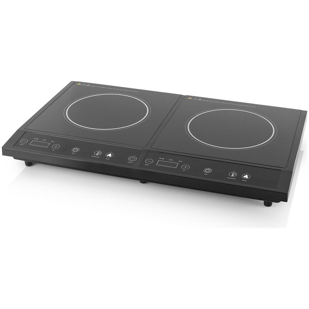 Piastre A Induzione Costi tristar piastra induzione da tavolo doppia potenza max 3400 watt