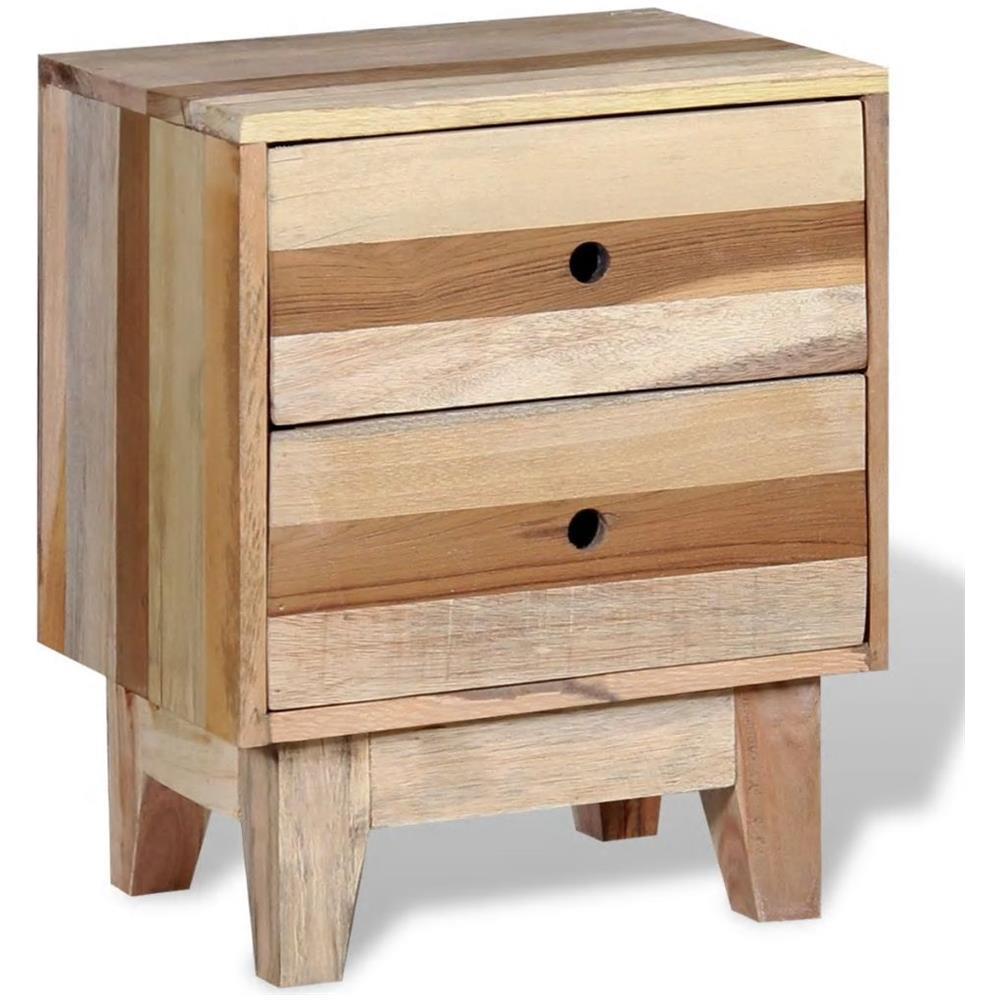Furniture Vidaxl Comodino In Legno Tavoli