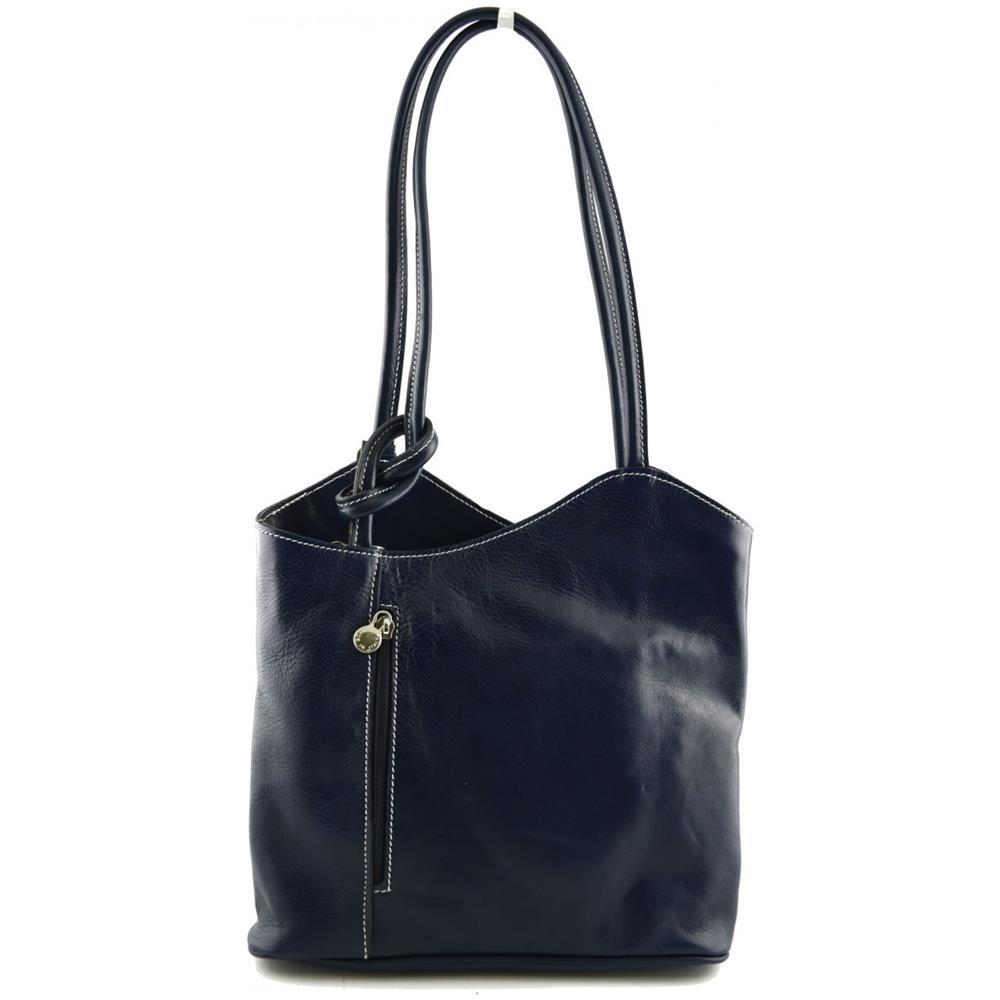 001663f448 Dream Leather Bags - Borsa A Spalla In Vera Pelle Colore Blu - Pelletteria  Toscana Made In Italy - Borsa Donna - ePRICE