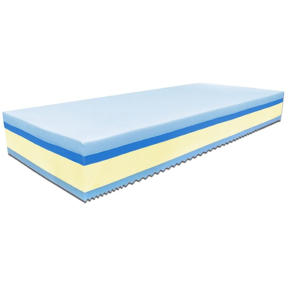 Baldiflex - Materasso Singolo In Memory Foam Plus Top Fresh 80 X 190 ...