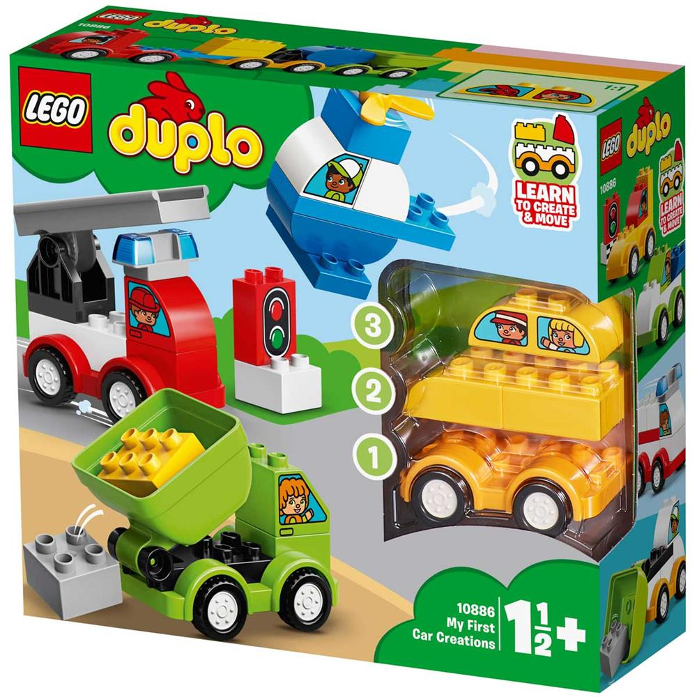 314871-LEGO-Duplo-I-miei-primi-veicoli-10886-B00EDTCHJ6 miniatura 2