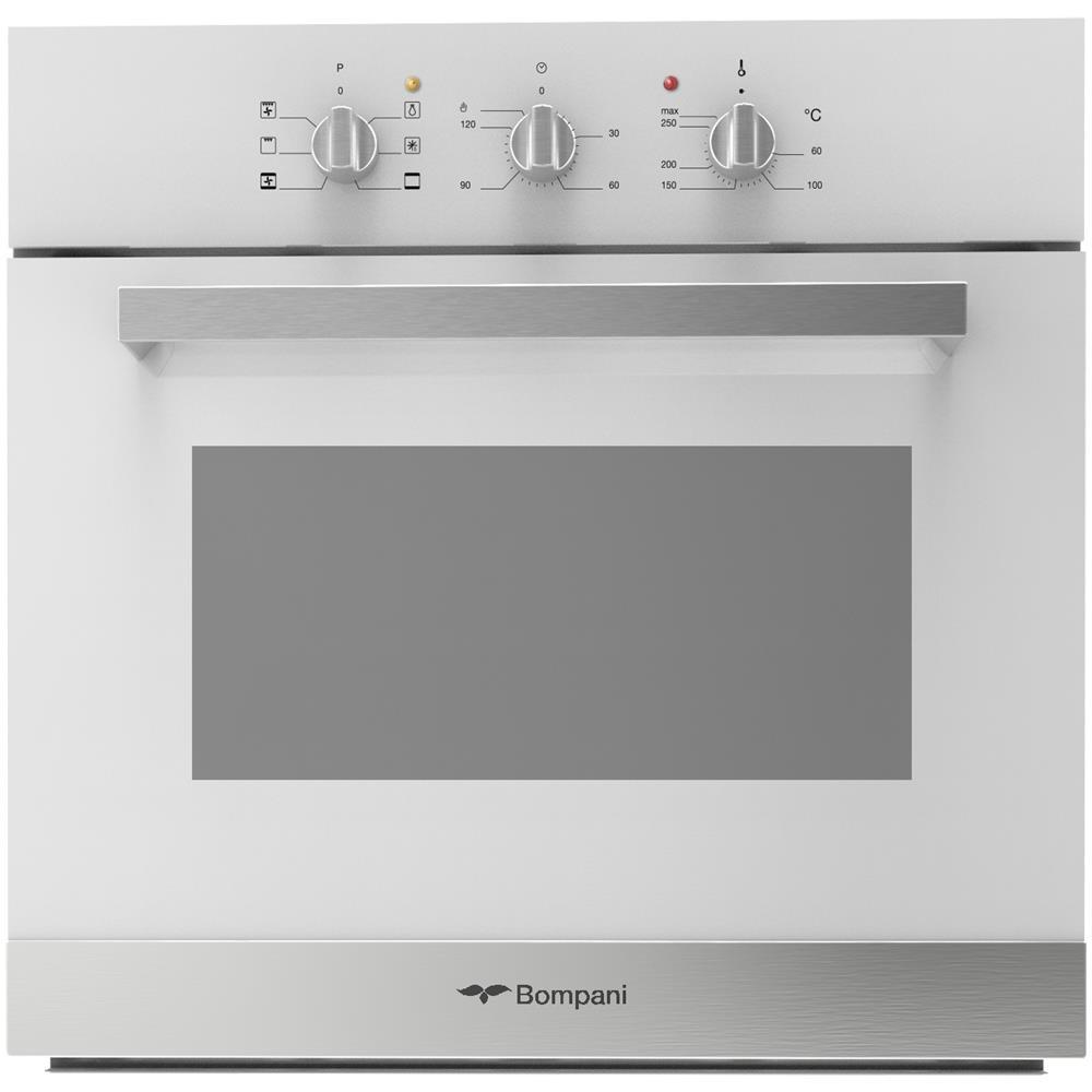 Bompani Forno Elettrico da Incasso 8014747048852 Capacità 54 L  Multifunzione Ventilato Colore Bianco