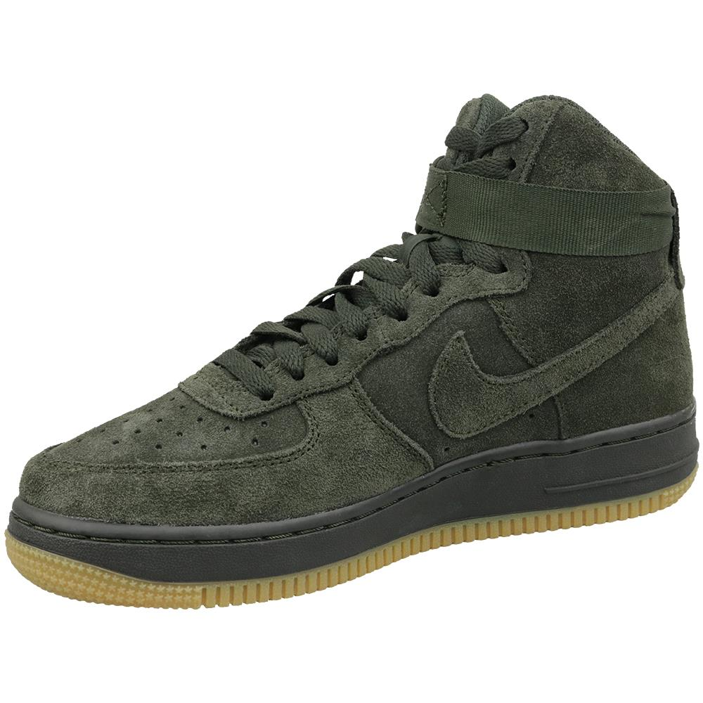 NIKE Air Force 1 High Lv8 Gs 807617 300, Bambini, Verde
