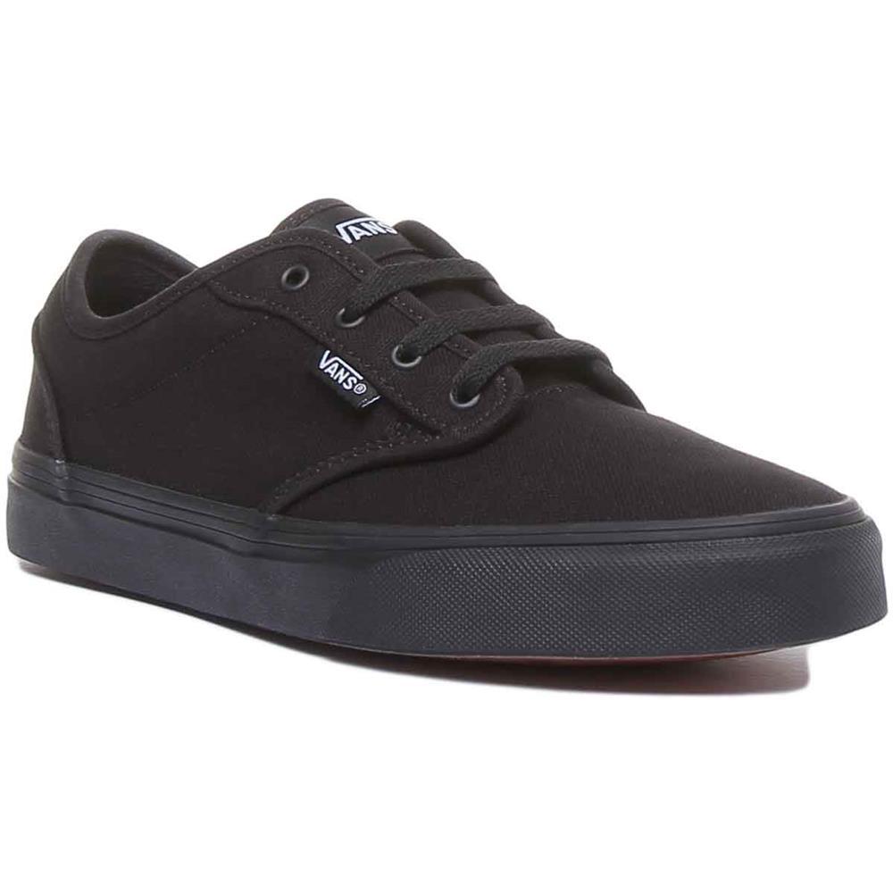 VANS Atwood Sneakers Scarpe Unisex Nero Skate Imbottite Nero 37