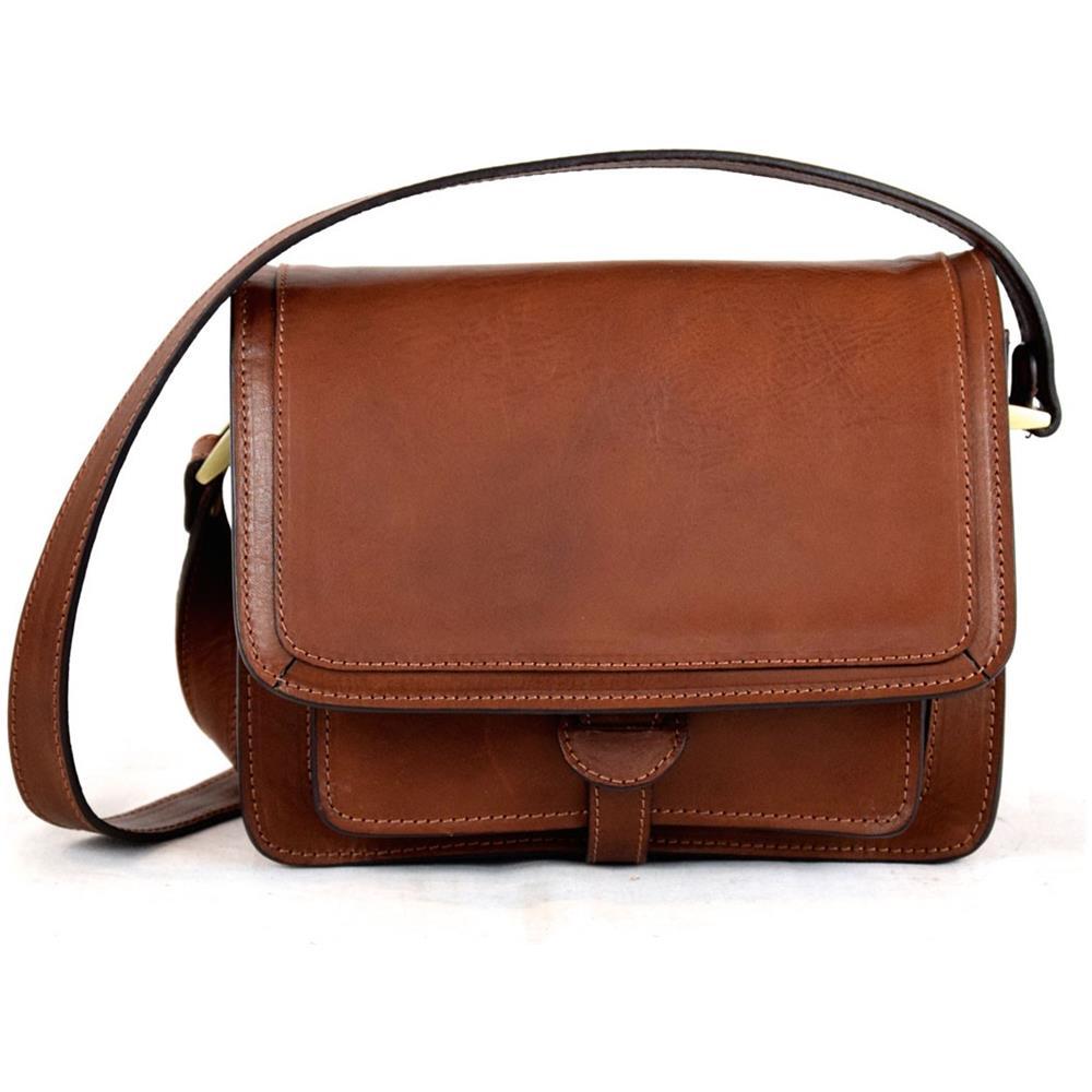 Dream Leather Bags - Borsa Donna A Tracolla In Pelle Conciata Al Vegetale  Colore Marrone - Pelletteria Toscana Made In Italy - Linea Prestige - ePRICE 43e6eb06084