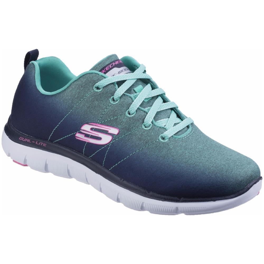 Appeal Sportive Scarpe Flex 2 Donna Skechers 0 36 Eu Sk12763 qwRaxEF