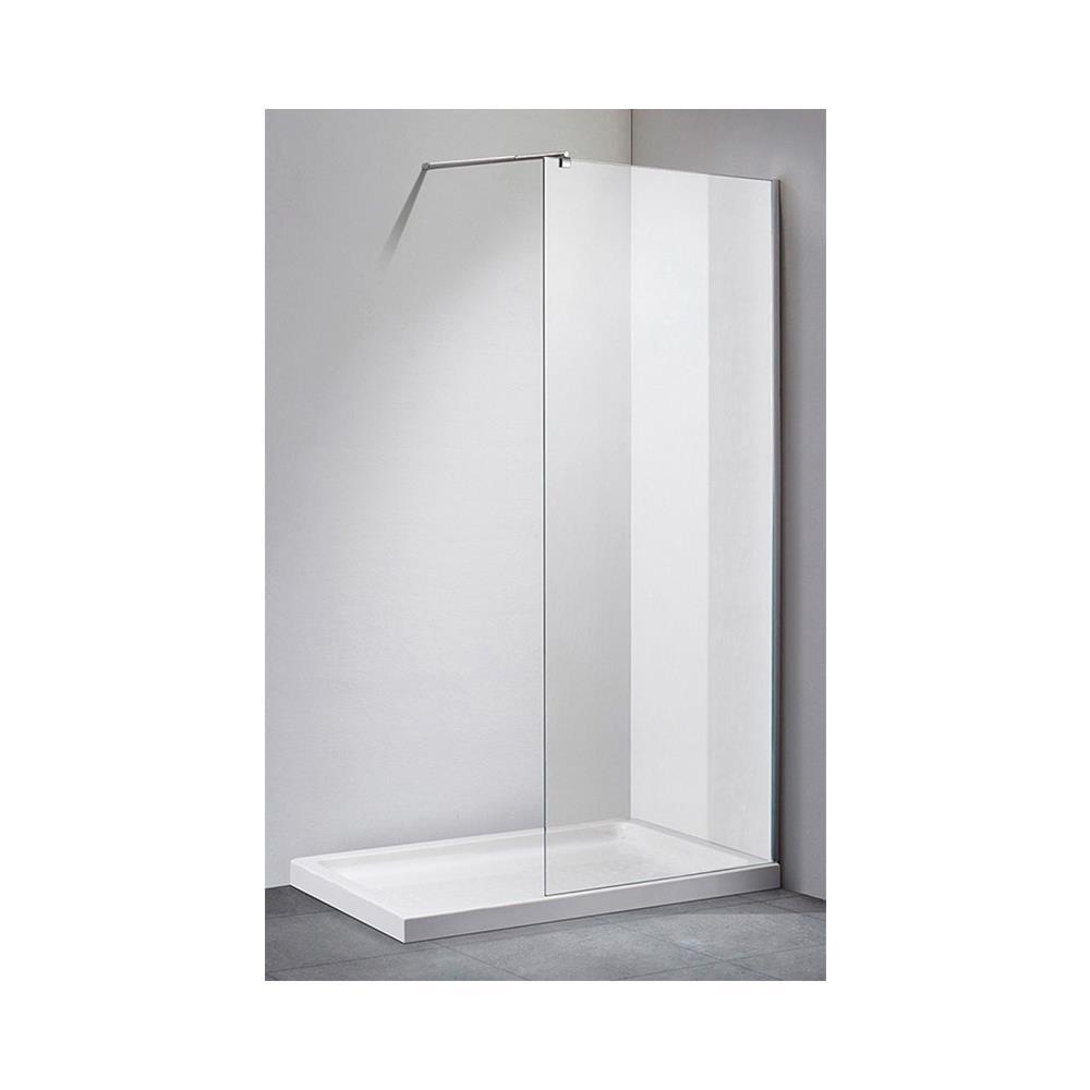 Showertech Parete Doccia Walk In 140 Cm Cristallo Trasparente 8 Mm