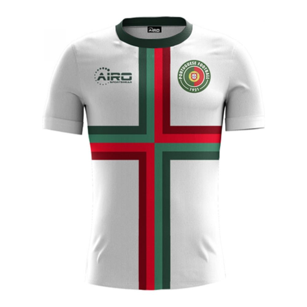 30311c2017c Airo Sportswear - 2018-2019 Portugal Away Concept Football Shirt (kids) -  Medium Ragazzo - ePRICE