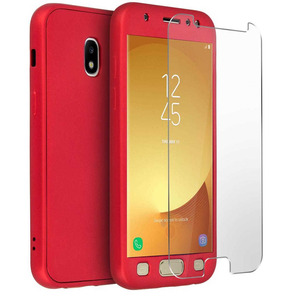 Protezione completa - Cover Trasparente Pellicola Vetro Samsung Galaxy J5 2017