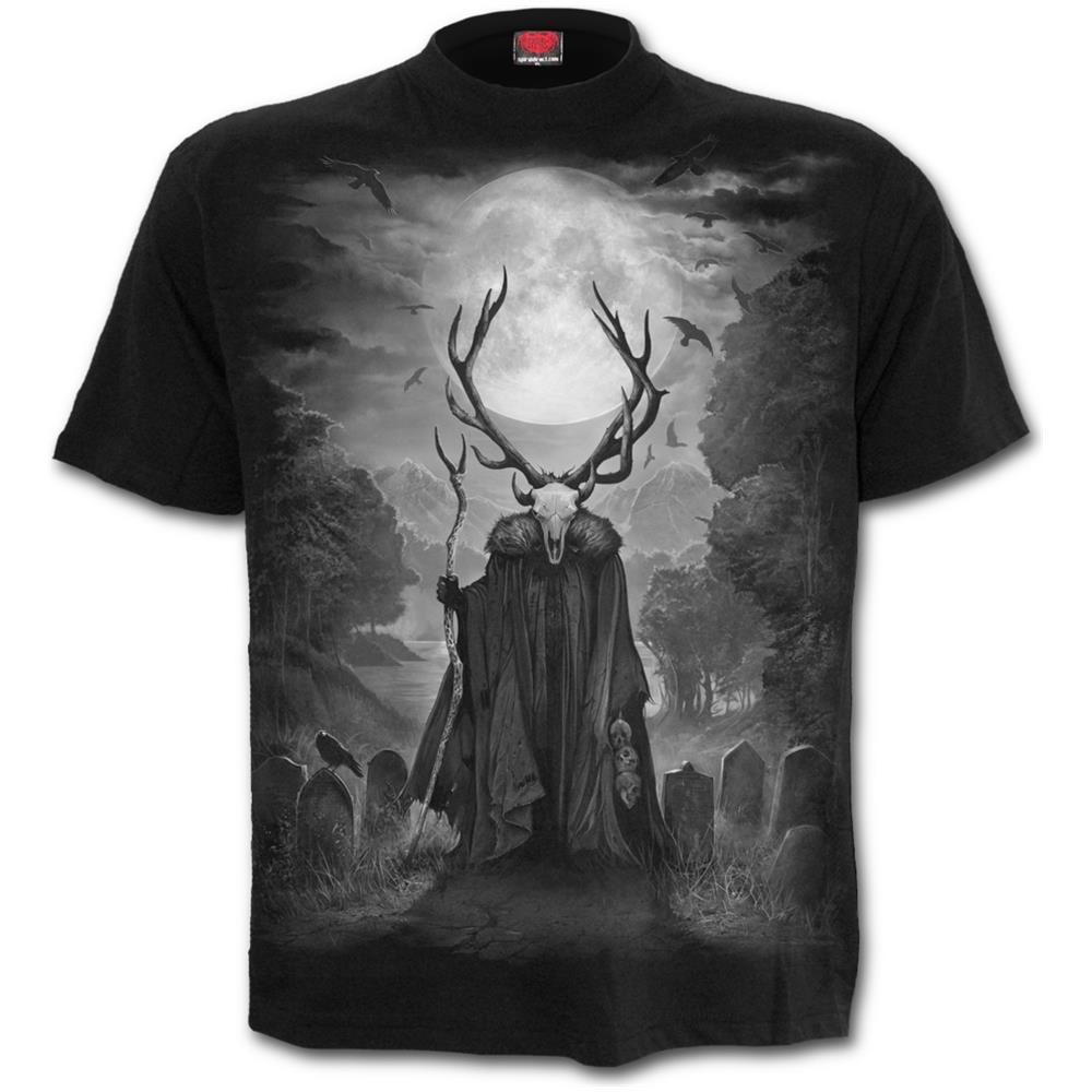 - Horned Spirit Black (T-Shirt Unisex Tg. 2Xl)