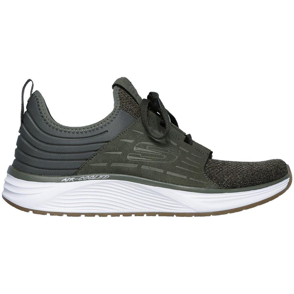 SKECHERS Skyline Silsher Scarpe Da Ginnastica Sneakers Verde Uomo Memory  Foam Verde 45