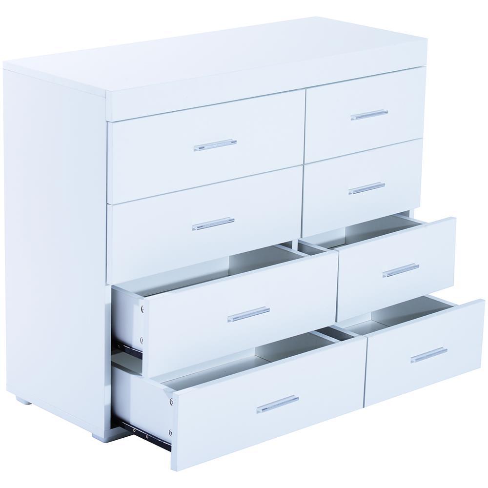 Cassettiere Da Ufficio.Homcom Cassettiera Da Ufficio In Legno Bianco 90x35x73cm