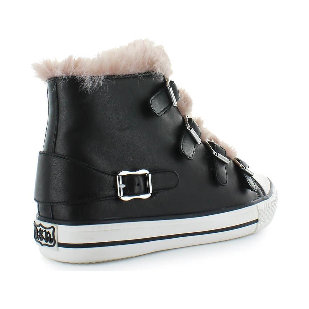 Pelle Hi Top Donna Sneakers Nero 38 Ash Eprice Valko03 Taglia dxZX6Zw