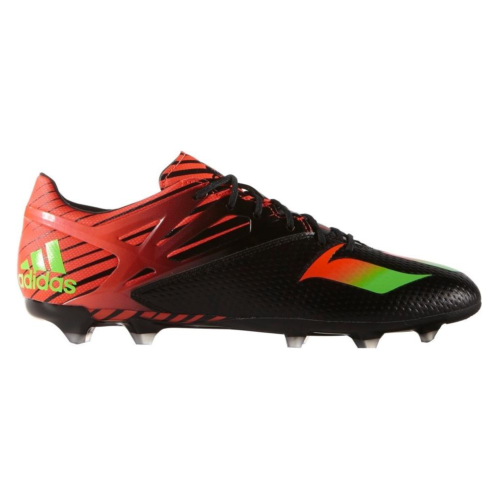 Adidas Scarpe Calcio Uomo Messi 15.2 Fg 43,3 Nero Rosso
