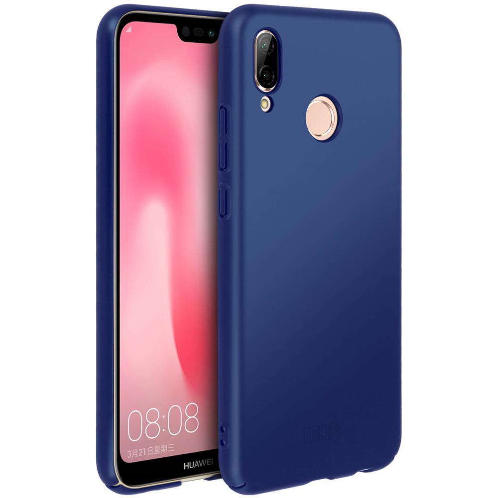 MOFI Cover Huawei P20 Lite Protezione Rigida Antishock - Blu