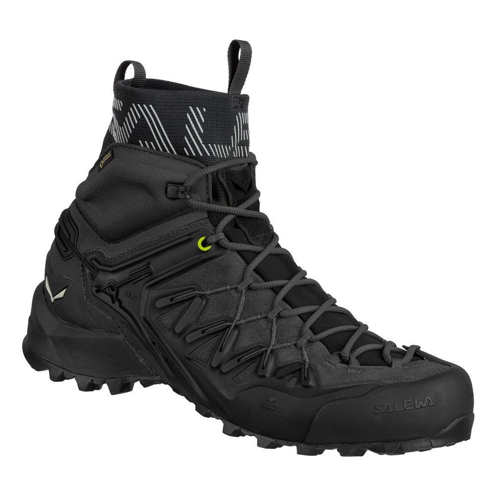 SALEWA Scarpe Trekking Ms Wildfire Edge Mid Gore tex® Black black Uk 10.5