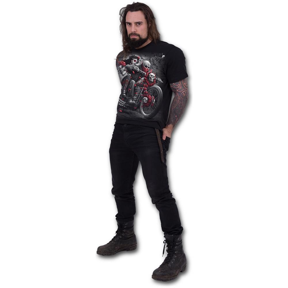 - Dotd Bikers - Black (T-Shirt Unisex Tg. S)