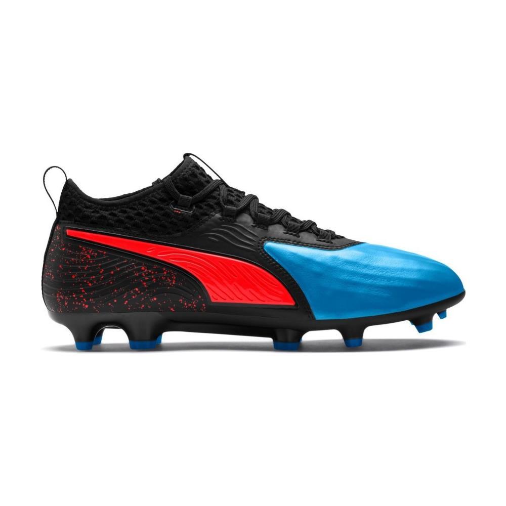 ce0dfb528 Puma Scarpe Calcio Puma One 19.2 Fg / ag Power Up Pack Taglia 44 - Colore:  Azzurro / nero