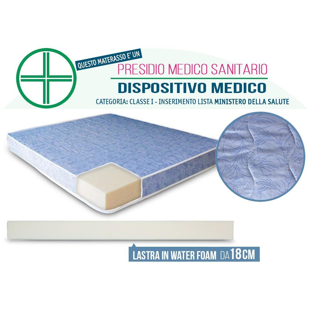 InMaterassi - Materasso Una Piazza E Mezza Waterfoam H20 Ortopedico ...