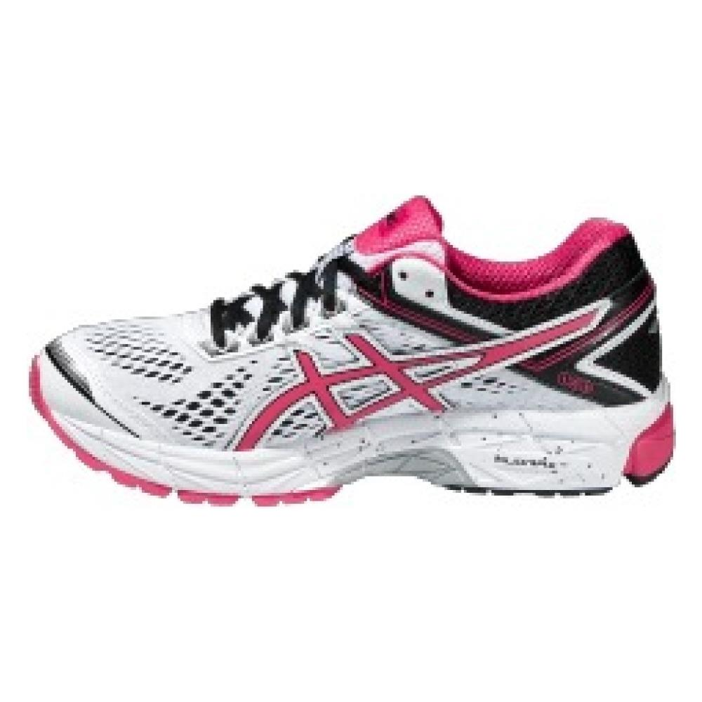 Asics Scarpa Donna Gt 1000 4 A4 Stabile 36 Bianco Rosa