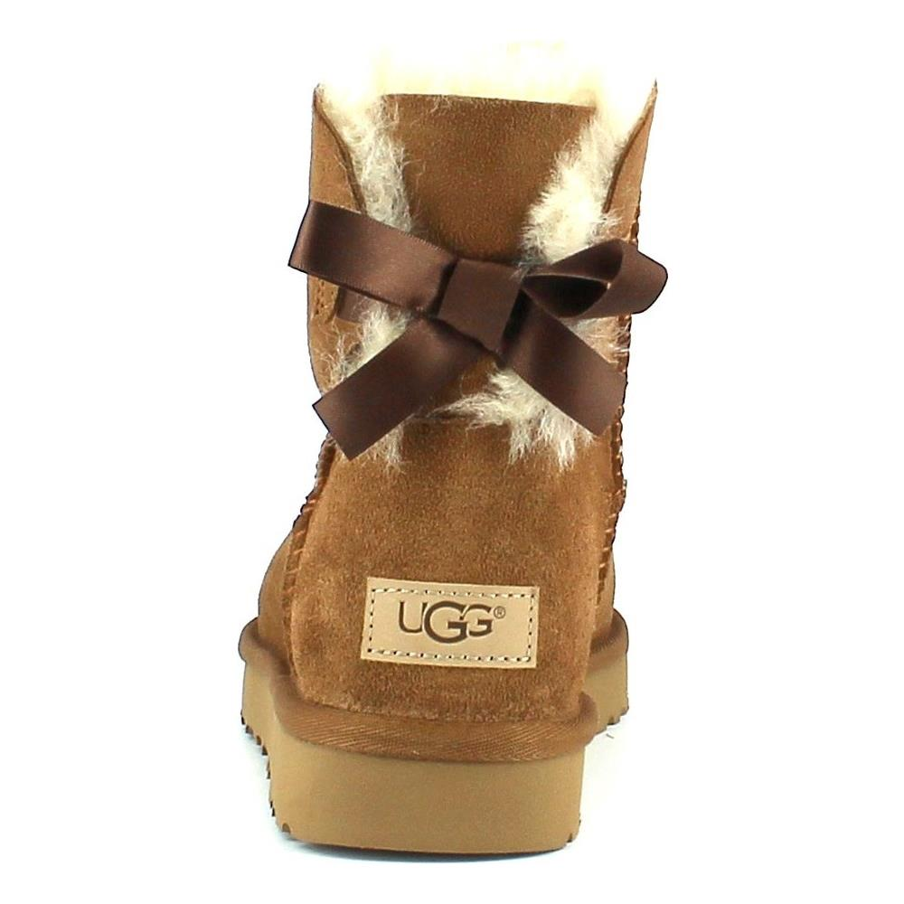 comprare popolare d364b 9543c UGG Mini Bailey Bow Ii Stivali Donna Marroni 40