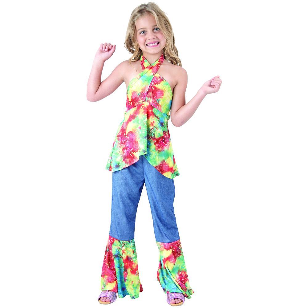 d9120018cc60 JADEO - Costume Hippie Per Bambina 4 - 6 Anni (s) - ePRICE