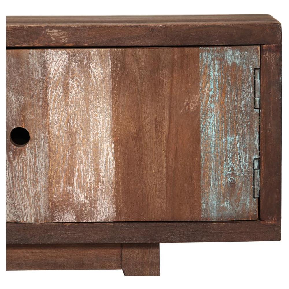 Mobile Porta Tv Stile Vintage.Vidaxl Mobile Porta Tv In Legno Di Acacia Stile Vintage