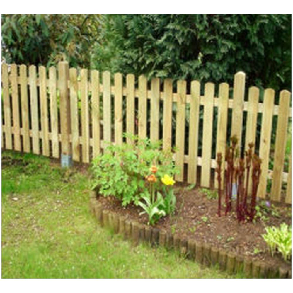 Recinzioni Per Giardino In Legno.Nextradeitalia 5 Pz Steccato Staccionata In Legno Per Giardino E