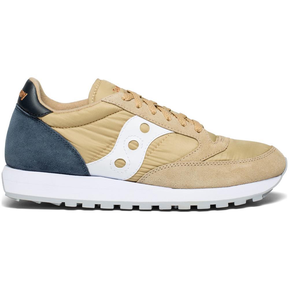 SAUCONY Jazz Original Scarpe Sneakers Uomo Tan navy 43 Eu