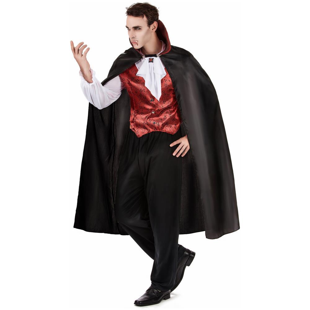 Travestimenti Halloween Uomo.Jadeo Travestimento Da Vampiro Uomo Per Halloween Medium