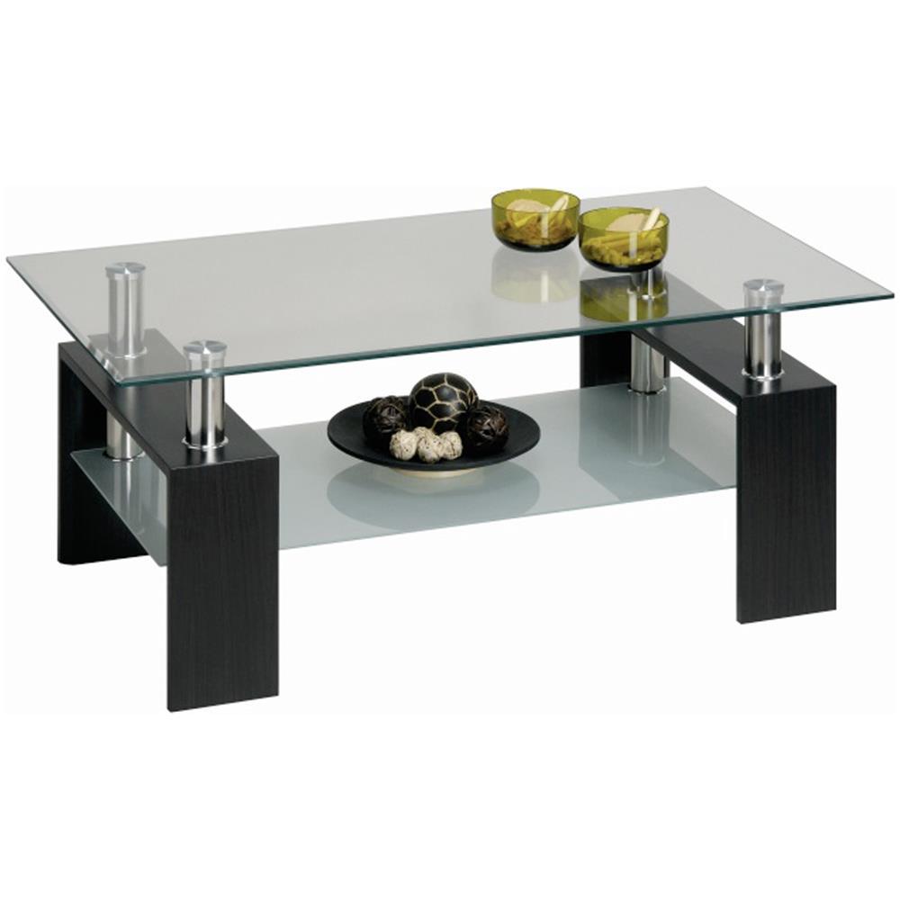 Tavolini Salotto Vetro Temperato.Estea Mobili Tavolino Salotto Vetro Piano Cristallo Temperato