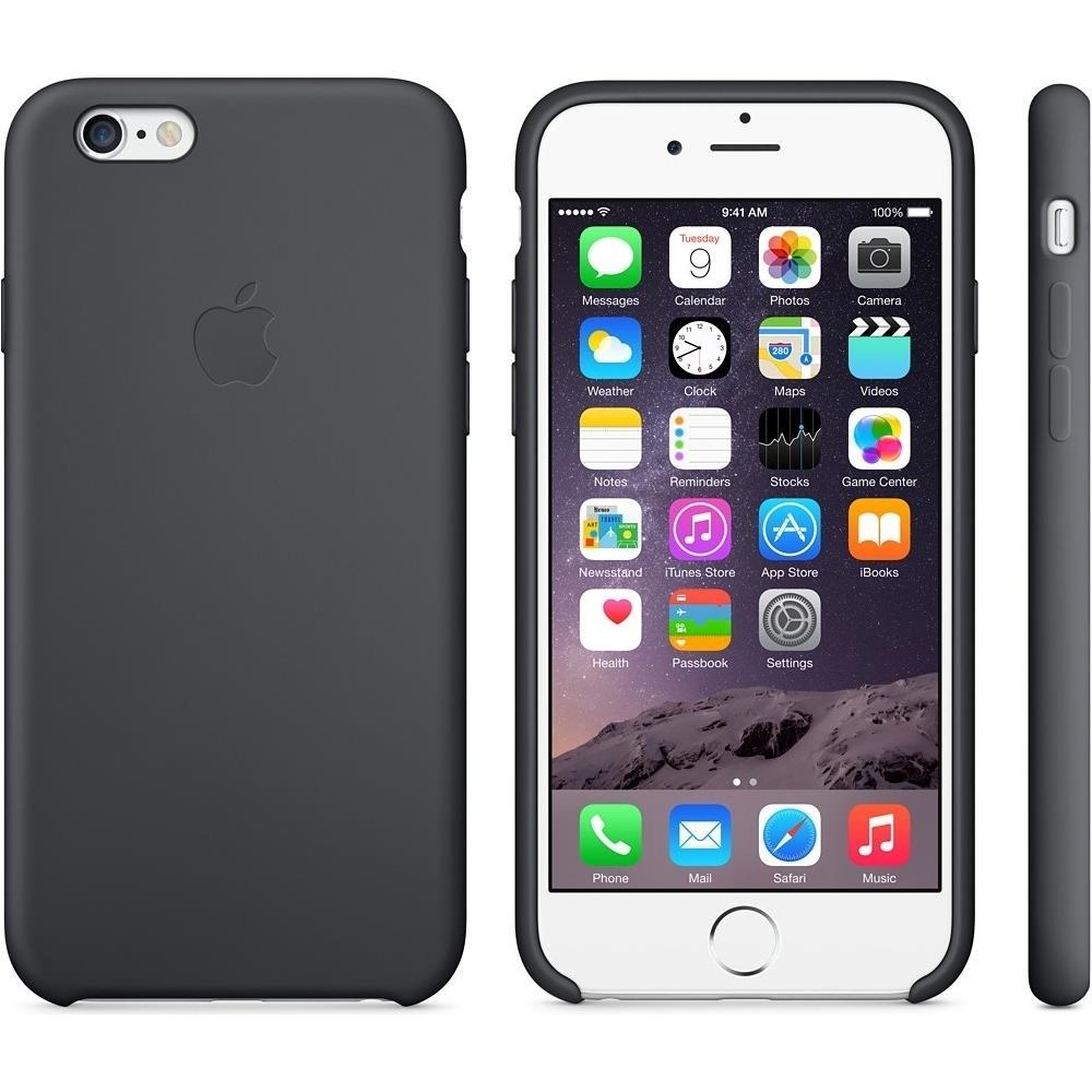 APPLE Cover Originale Iphone 6 E 6s Nero Black Mxx32fe / a