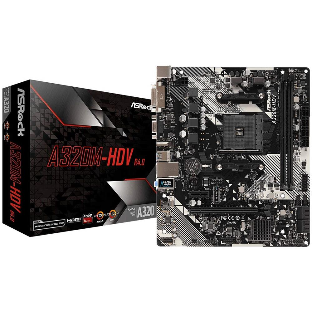 Scheda Madre A320M-HDV R4.0 Socket AM4 Chipset AMD A320 Micro ATX