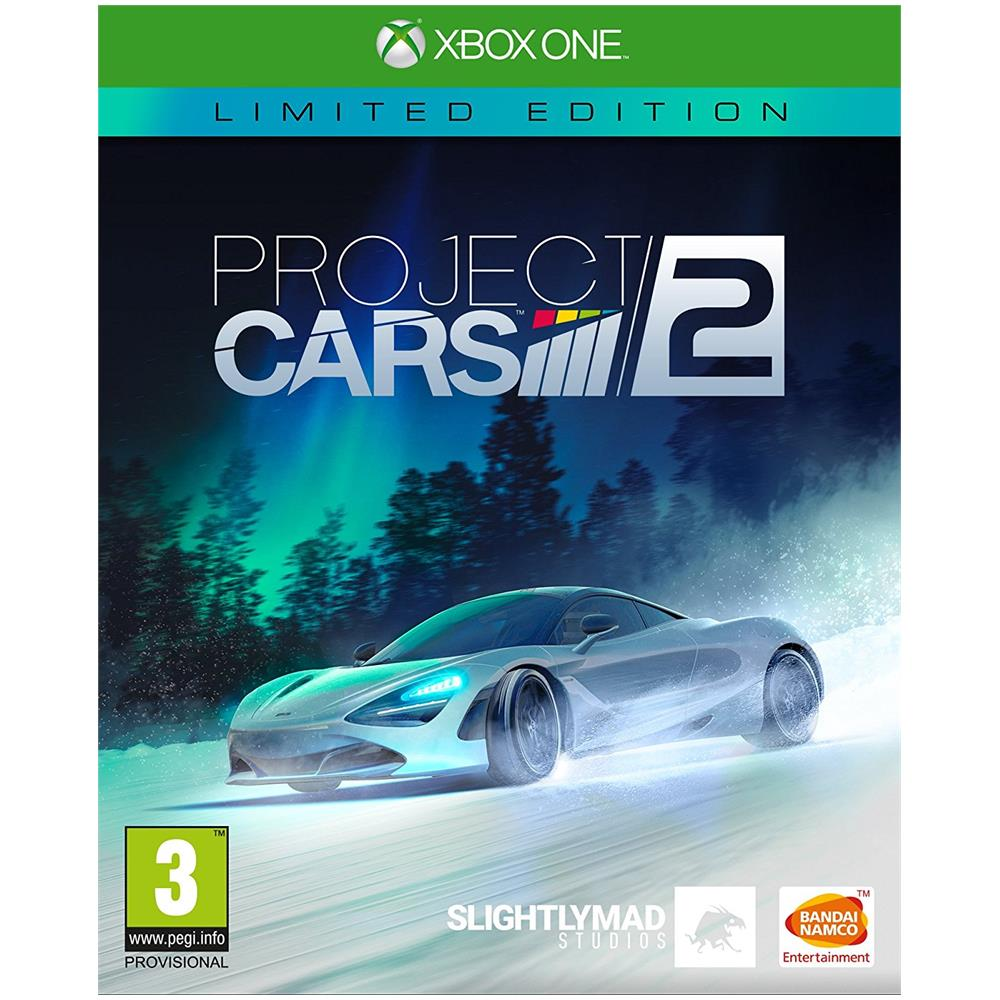 XONE - Project CARS 2 Limited Steelbook Edition