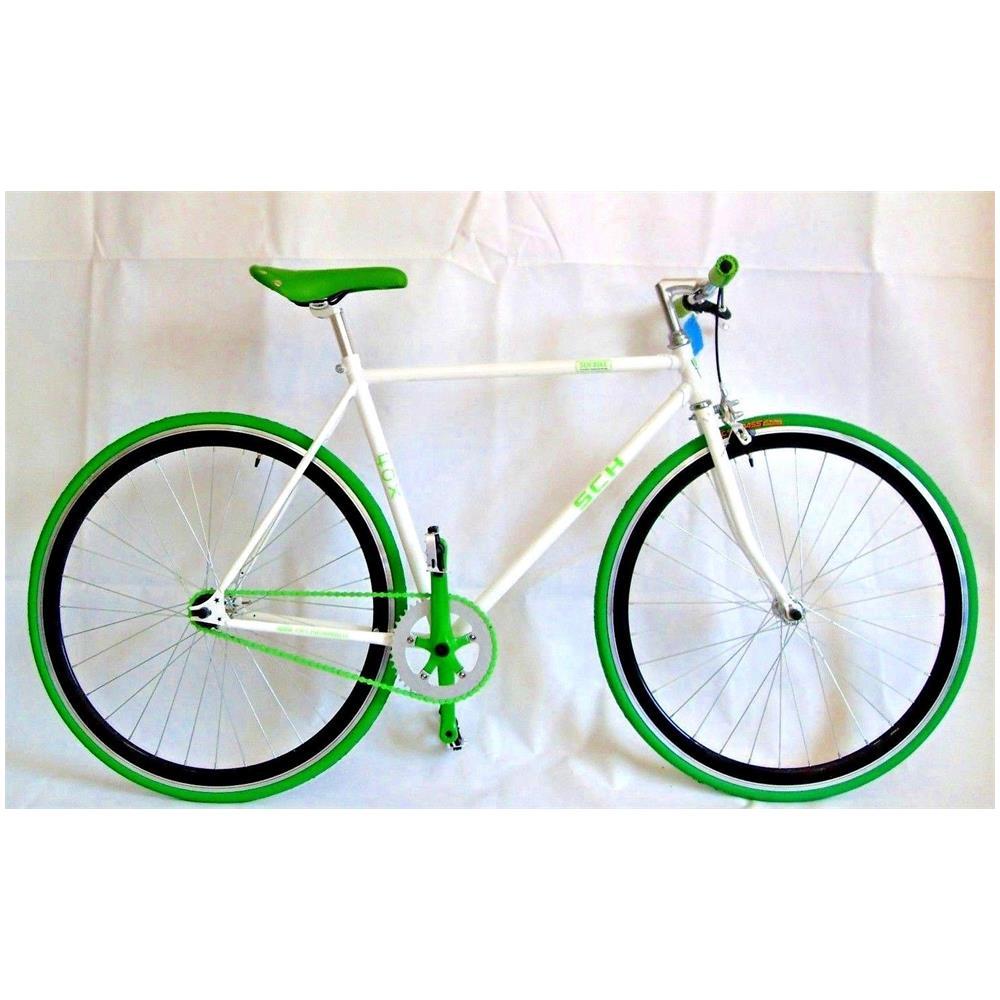 Flli Schiano Bici Fox Scatto Fisso Acc 28 Bianco Verde Eprice