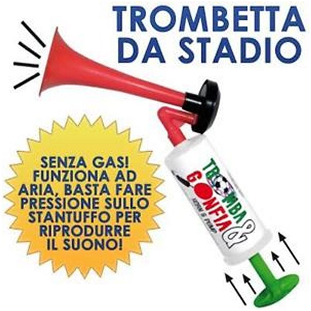 TROMBA DA STADIO AD ARIA MANUALE NO GAS