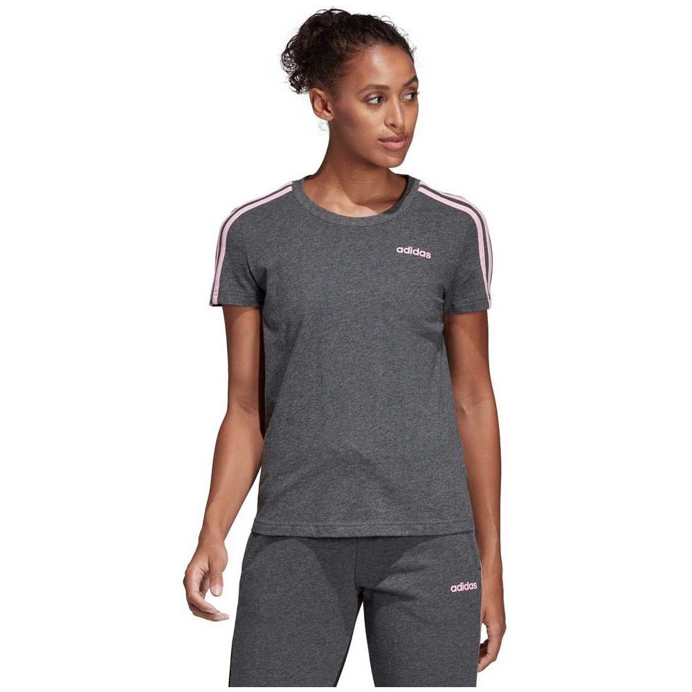 adidas Magliette Adidas Essentials 3 Stripes Slim Abbigliamento Donna Xl 646d54fd3ba5