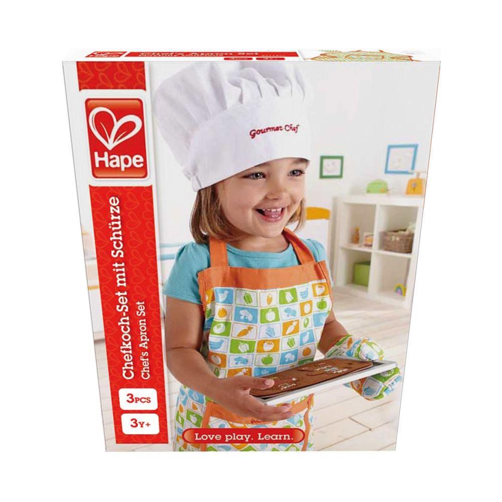 Hape - Set Grembiule Chef Per Bambini - ePRICE c8bfd8841af2