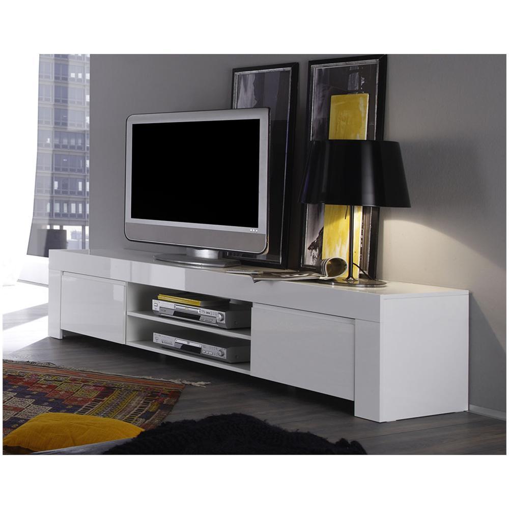 ZENZERO - Capiente Porta Tv Moderno Di Design 2 Ante Amalfi - ePRICE
