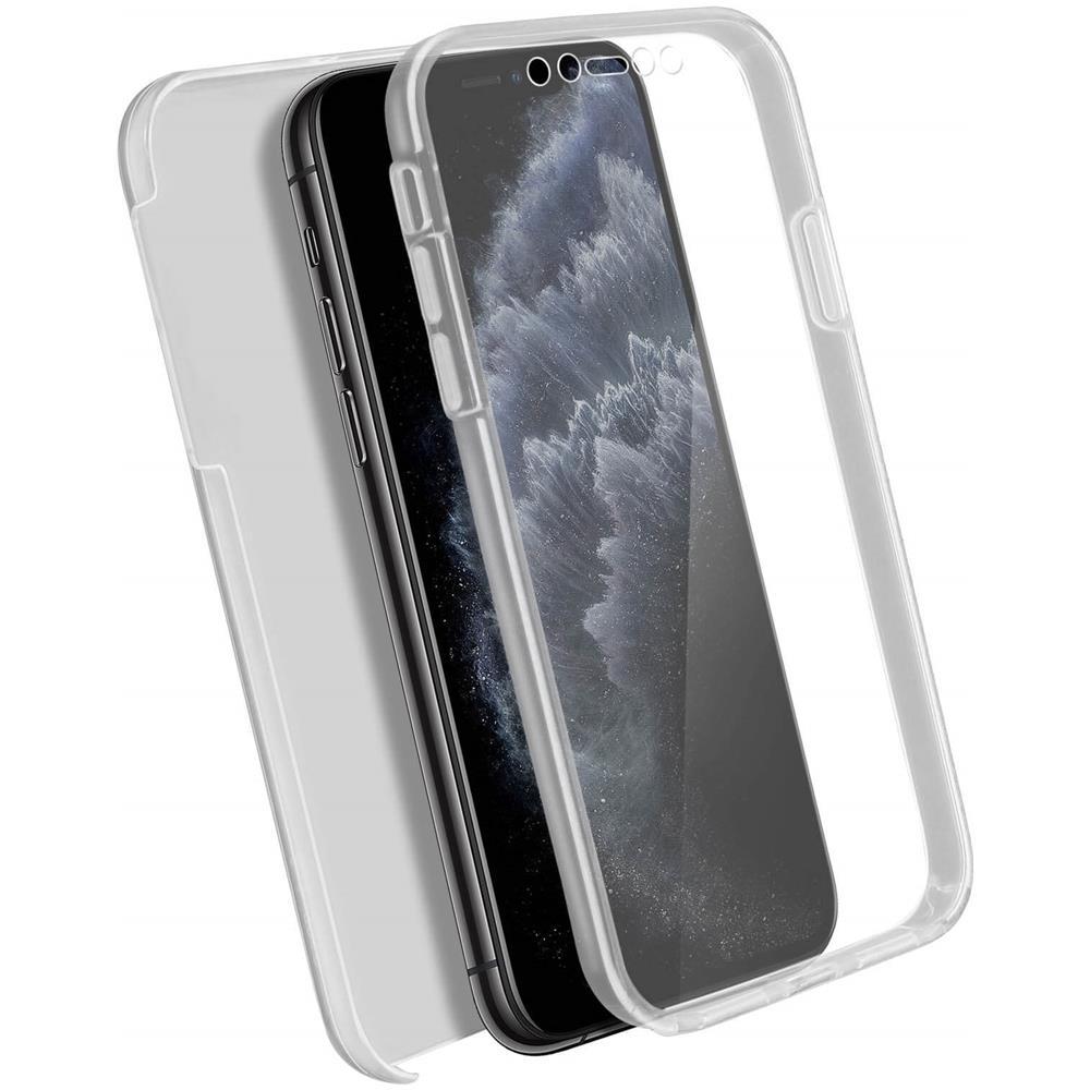 Avizar Cover Apple Iphone 11 Pro Silicone Fronte Retro Trasparente