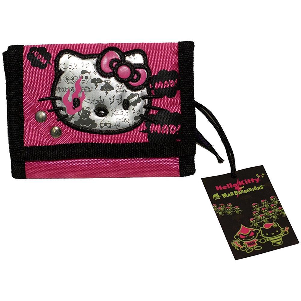 super popolare 23ccf f78ff Sanrio - Hello Kitty Rock Portafoglio In Tela Con Chiusura A ...