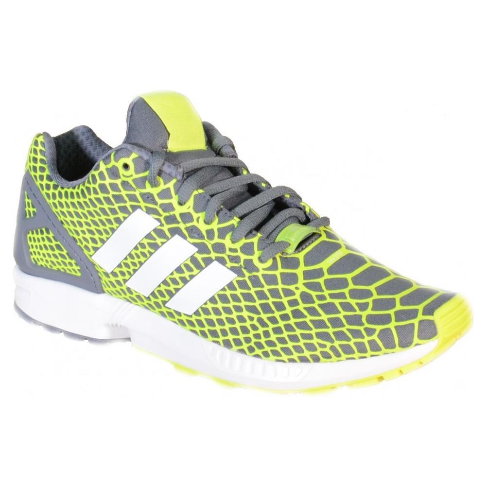 a1e0bc20c8 Adidas - Zx Flux Techfit Scarpe Sportive Uomo Gialle Grigie Tela B24934  40,5 - ePRICE