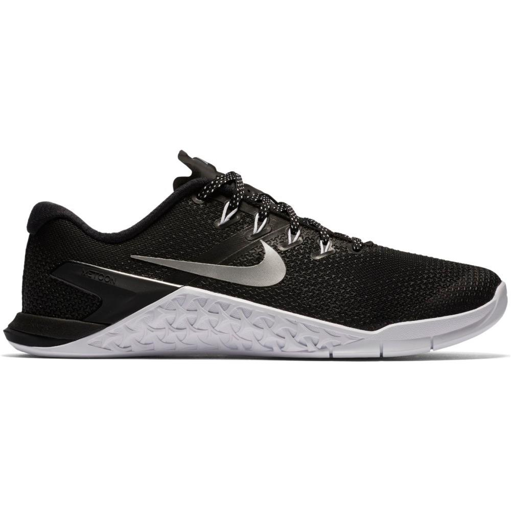sneakers nike nere argento donna