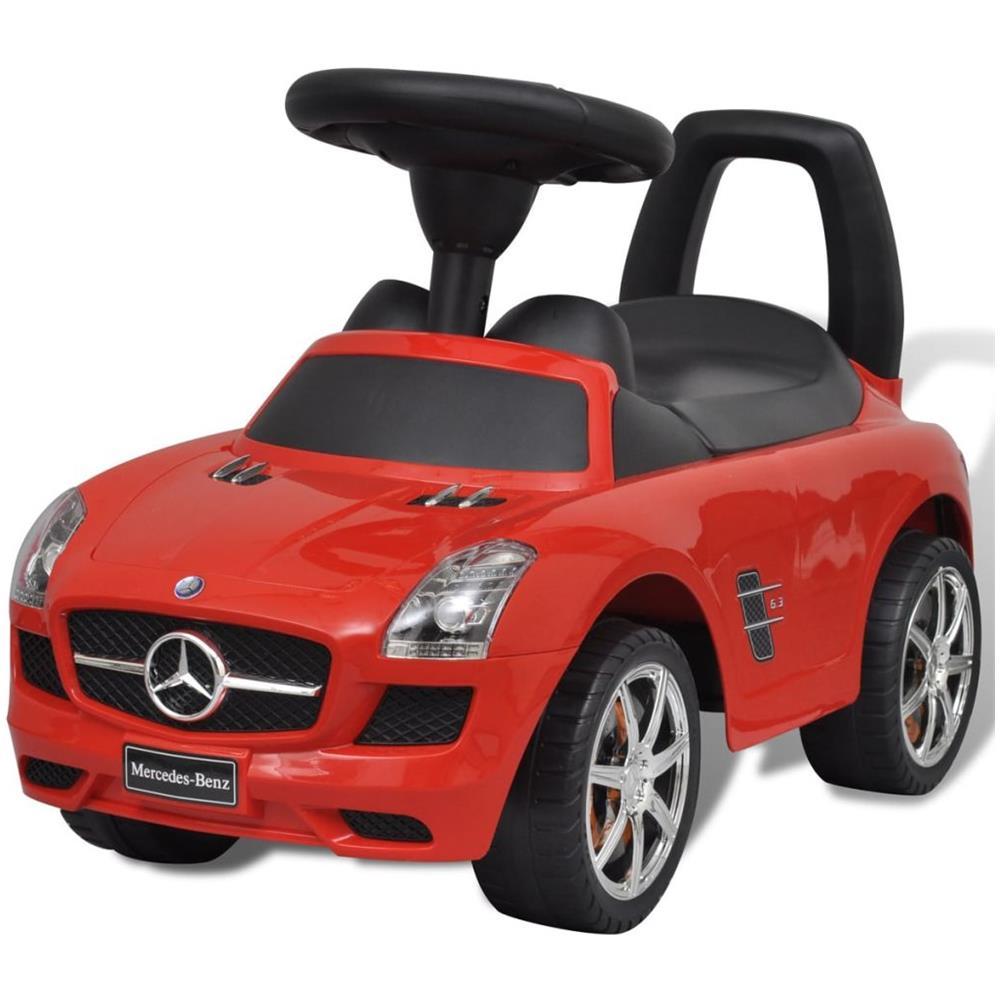 Vidaxl Mercedes Benz Macchina A Spinta Cavalcabile Per Bambini Rossa Eprice