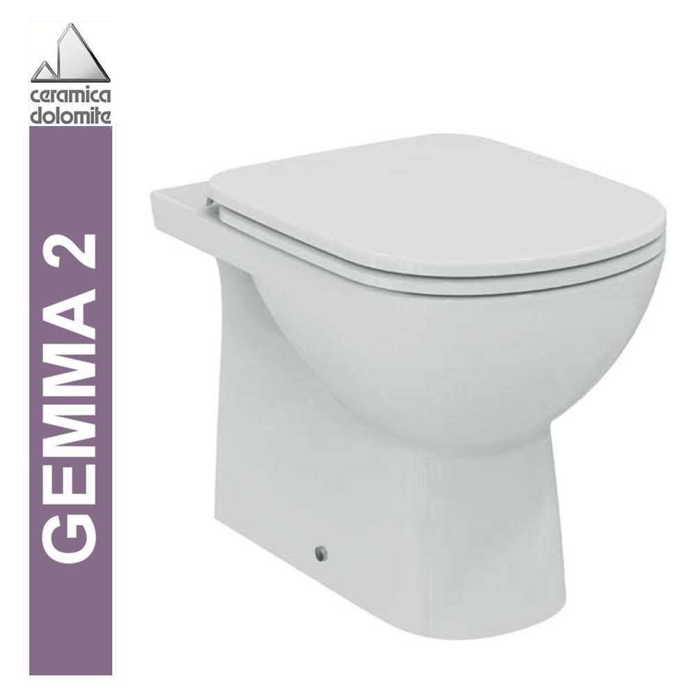 Ceramica Dolomite Serie Gemma.Ceramica Dolomite Wc A Pavimento Btw Serie Gemma 2 J523101