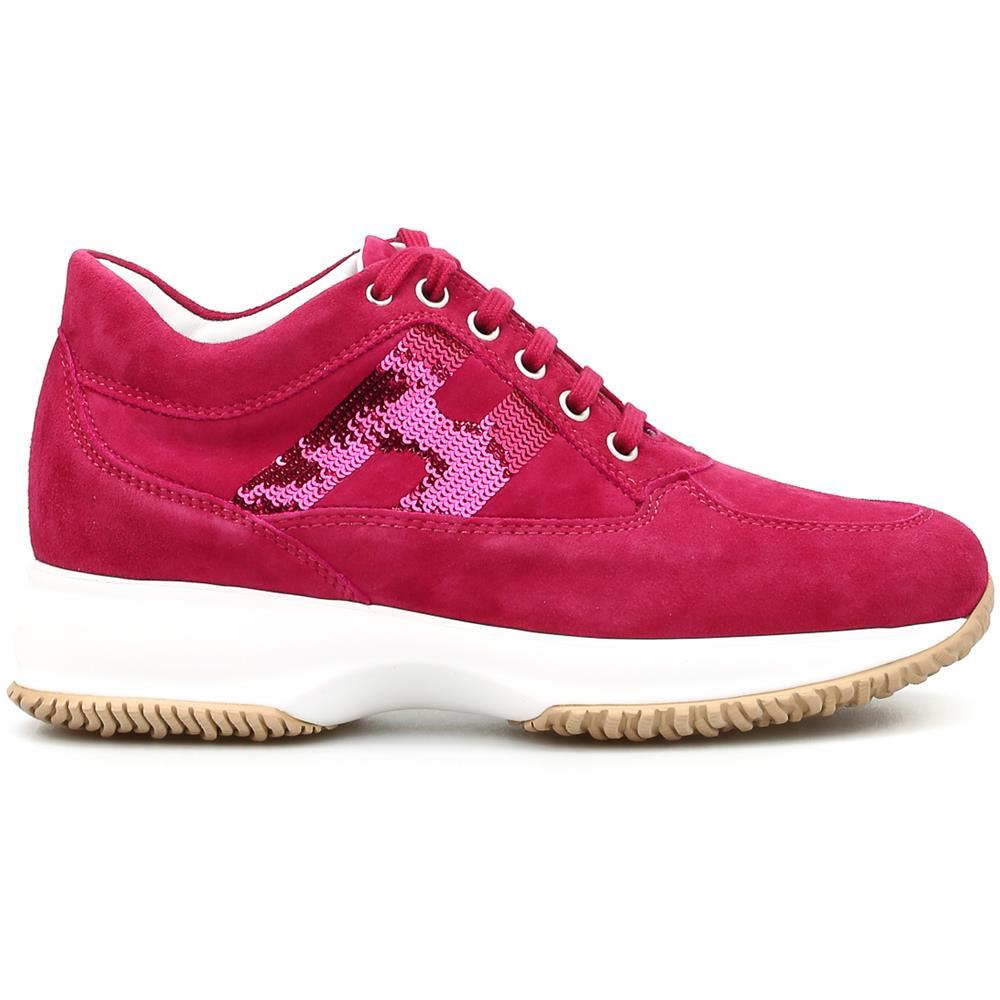 HOGAN Scarpe Sneakers Donna Hogan Hxw00n05641cr0r407 Interactive Pelle Originale Pe Taglia 38 1/2 Colore Rosa