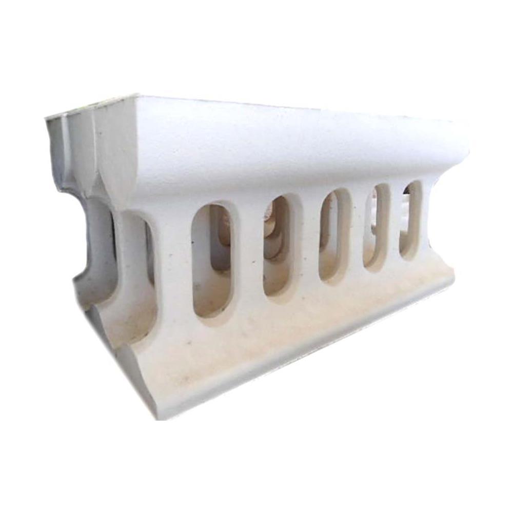 Recinzioni Per Giardino In Cemento.Mondo Artistica Fioriera Di Recinzione In Cemento Bianco E