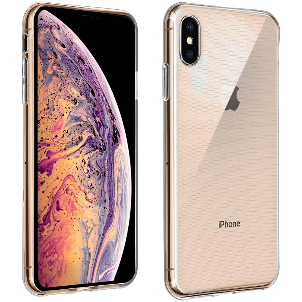 custodia iphone xs max silicone